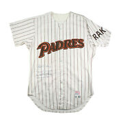 1985 Tony Gwynn San Diego Padres Signed Inscribed Vintage Game Jersey