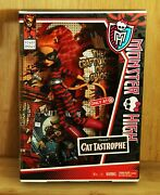 Monster High 2013 Toralei Cat Tastrophe Power Ghouls Doll New In Box