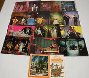 17 Postcard Lot Movieland Wax Museum Buena Park California All Vintage Unposted