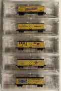 Z Scale Beer Refrigerator Freight Car Lot With Mtl Knuckle Couplers. Lot 1