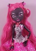 2013 Monster High 13 Wishes Catty Noir Black Were Cat Doll W/outfit And Jewelry