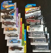 Hot Wheels Fast And Furious Lot Of 11 Different Cars. Chevelle Dodge Ford Toyo