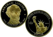 Abraham Lincoln Dollar Trial Coin Proof Value 139.95