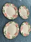 Newfranciscan Waredesert Rosefour 10andrdquo Dinner Plates1980and039sperfect