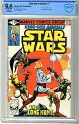 Star Wars Annual 1 Cbcs 9.6 Nm+ White Pgs 1979 Includes 3 Page Cover Ga