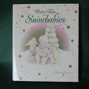 Dept 56 Winter Tales Of The Snowbabies Book First Edition Hard Cover Nib 1995