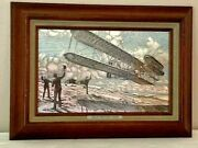 Franklin Mint Limited Edition Wright Brothers Flyer I 1976 Silverscene