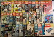 Car/motorcycle 50+ Magazines Lot Hot Rod Cycle World Vintage 1950s 1960s