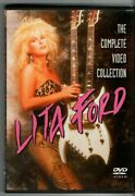Lita Ford - The Complete Video Collection '03 Dvd W/ Live And Music Videos