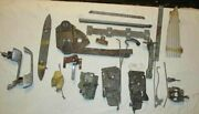 1956 1957 Chevy Misc Parts Lot B Door Lock Latch Rods Misc Parts And Hardware