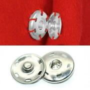 1button Metal Sew-on Snap Fasteners Poppers Huge Press Sizes Studs New T7u6