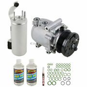 For Ford Explorer And Mercury Mountaineer Oem Ac Compressor W/ A/c Repair Kit Tcp
