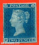 Sg. 14. E1 2. Es11. Oh . 2d Blue. Plate 3. A Fine Very Lightly Mount B53484