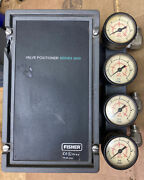 Fisher Cascade Automation Series 3600 Valve Positioner Used