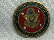 Usa Secretary Of The Army Thomas E . White Dept. Of The Army Challenge Coin