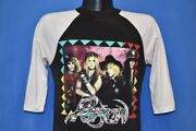 Vintage 80s Poison Glam Metal Bank Open Up Say Ahh Tour Concert Jersey T-shirt S
