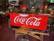 1950and039s Coke Coca-cola 67 Porcelain Building Advertising Sign Watch Video