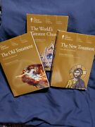 The Great Courses Old And New Testament, World's Greatest Churches Free Bag