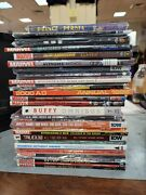 Mix Lot Graphic Novels Trade Paper Back New/used Marvel Idw Dark Horse