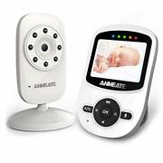 Video Baby Monitor With Digital Camera Anmeate Digital 2.4ghz Wireless Video