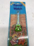 Baby Kermit The Frog Watch Vintage 1987 Henson Productions Muppet Babies