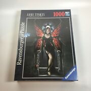 Ravensburger Puzzle Anne Stokes Collection Gothic Butterfly 1000 Piece 2009 New