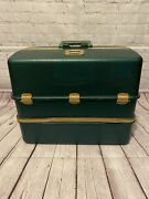 Vintage 3500u Umco Tackle Box With Possum Belly Free Shipping