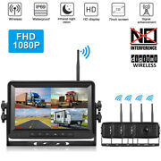 1080p Digital Wireless Rear View Backup Camera System 7 Monitor For Rv Truck