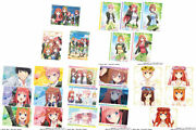 Bandai The Quintessential Quintuplets Ss Wafer 20pack Box Candy Toy