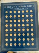 Mercury Head Dime Collection Of 14 Dimes 1917-1938