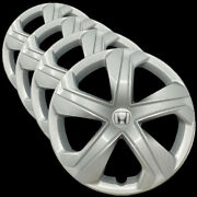 Hubcap Set For Honda Civic 2006-2011, 2014-2020 - 16-inch Silver Wheel Covers
