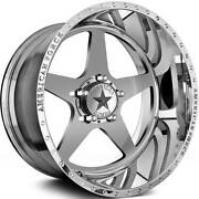 4-20x12 Polished Wheel American Force Afw11 Independence Ss 5x5 -33