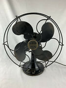"""Antique Emerson B-jr """"1931"""" Electric 10"""" Oscillating One Speed Fan Working"""