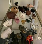Pig Figurines From Around The World - Set Of 27