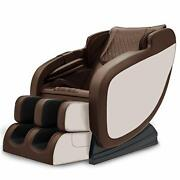 3d Massage Chair Recliner With Bluetooth S Track Yoga Stretchingen Gold