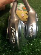Cleveland Tour Action Reg.588 Wedge Set 54 Sw And 60 Lw S400 Steel Shafts