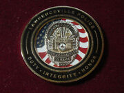 Lawrenceville Police Challenge Coin Gwinnett County Seat Georgia