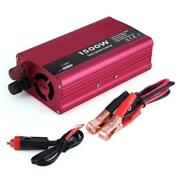 Auto Power Inverter Converter 1500w Dc 12v To Ac 110v Usb Charger Adapter 3.1a