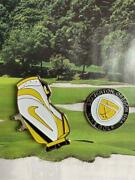 Unused Nike Golf Ball Marker With Bag-shaped Clip Yellow Other Sporting Goods