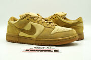 Nike Sb Dunk Low Used Size 8.5 Reese Forbes Wheat Twig Dune 304292 731