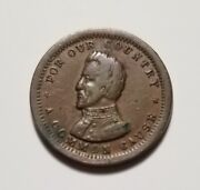 1861-65 For Our Country A Common Cause Now And For Ever Civil War Token