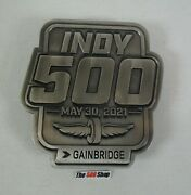 2021 Indianapolis 500 105th Running Event Pit Badge Belt Buckle 125