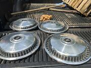 Vintage Ford Motor Company F150 Pickup 15 Hubcaps Set Of 4