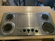 Pickup Only Vintage 45 Thermador Stainless Steel Electric Cooktop 220v As-is