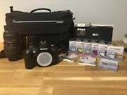 Nikon N80 35mm Camera Lot With Lens, Filters And Travel Bag Read Description