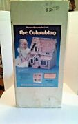 Vintage Dura-craft Cb 150 The Columbian Dollhouse Wooden Cottage Doll House