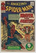 Amazing Spider-man 15 Vg- 3.5 Affordable, Very Nice Solid Copy 1st App Kraven