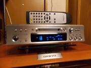 Onkyo Md-133 Hi-md Mini Disc Recorder Silver High Speed Mdlp Silver Tested Japan