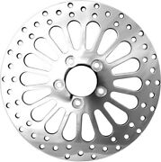 Harddrive Spoker Rotor Rear 11.8 Rr Polished Dyna 08-13 And 06-07 Ro43r-11.8