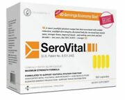 Serovital Dietary Supplement -160 Count 40 Days Supply Anti-aging 2-3 Day Ship